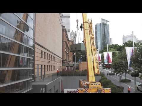 Australian Museum Building Preparation - 2015