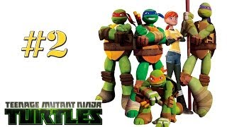 Teenage Mutant Ninja Turtles [HD] - Walkthrough | Part 2