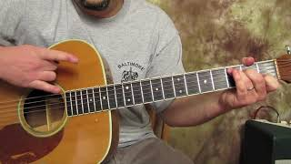Easy 3 chords cowboy chord Guitar  Acoustic Song