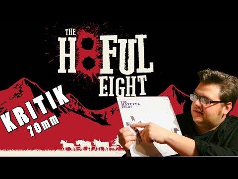 THE HATEFUL EIGHT - Kritik plus 70mm Review -  zum 8. Tarantino! Christian Koch