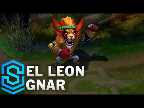 El Leon Gnar Skin Spotlight - League of Legends