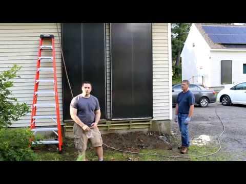 Solar Panel Install Garage
