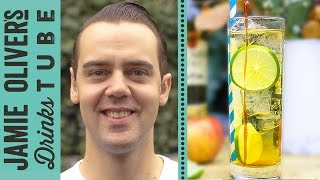 Golden Toffee Apple Cocktail with Edible Stirrer | Simone Caporale