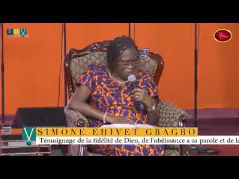 Simone gbagbo parle!!!