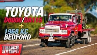 1968 KC Bedford and a Toyota D6000 / DA115  - TRUCKSTOP TV