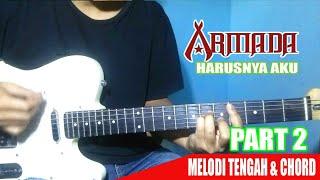 #Interlude ARMADA -Harusnya Aku | ( Melodi Tengah ) + Chord #PART 2