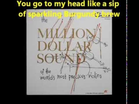 You go to my head , Rod Stewart, karaoke