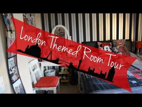 London Themed Room Tour | ohhitsonlyalice - YouTube