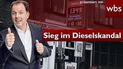 Dieselskandal – Wichtiger Sieg für Betroffene | Rechtsanwalt Christian Solmecke