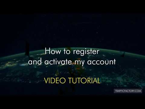 How to register and get my account approved – Video Tutorial –