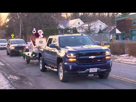 Santa Visits Valatie, NY - Lance Wheeler Video
