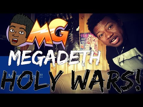Megadeth- Holy Wars (HIPHOP HEAD REACTS)