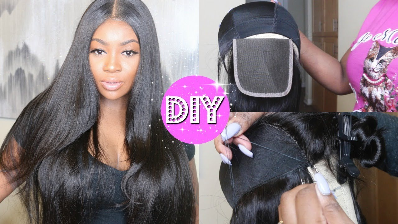 HOW TO MAKE A LACE WIG   EASY + BEGINNER
