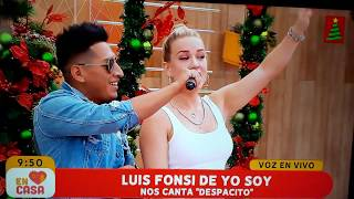 LUIS FONSI DE YO SOY PERU / ALLEN CHANGRA / EN CASA YouTube Videos