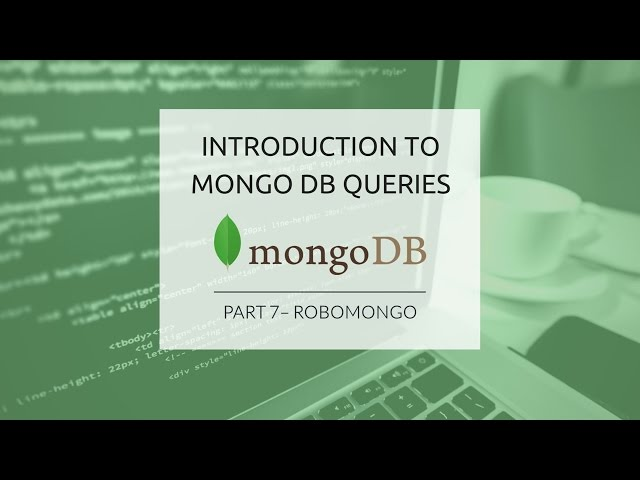 MongoDB Queries (Part 7) - Robomongo