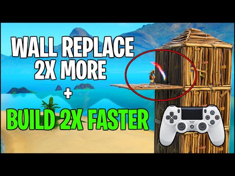 7 Fortnite Tips I Wish I Knew Sooner - Build 2x Faster + How to Wall Replace