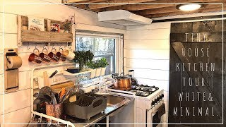 Tiny House Kitchen Tour | White, Copper&minimal