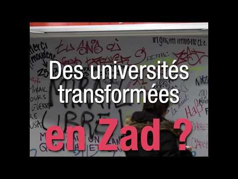 Des universités transformées en Zad ?