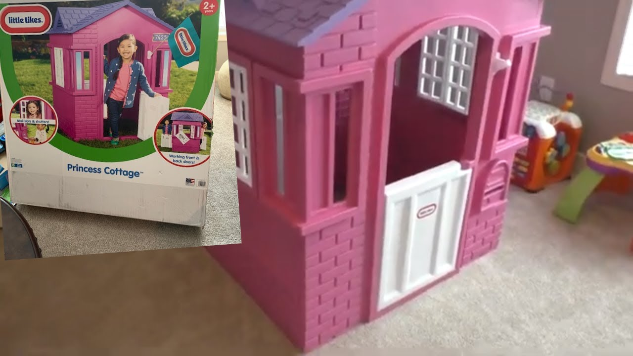 Little Tikes Princess Cottage How To Assemble A Toy Playhouse Youtube