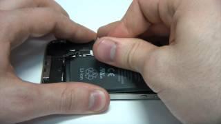 Видео 3. Замена аккумулятора iPhone 4S