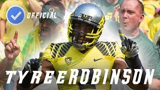 Tyree Robinson || Playmaking Safety || Official Oregon Highlightsᴴᴰ