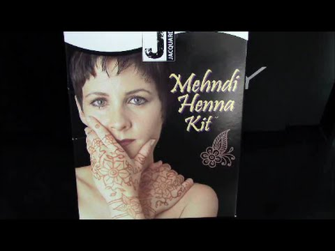 Henna Kit Review Youtube