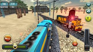 Indian Train Racing Games 3D | Android Games 2018 Gameplay | Droidnation
