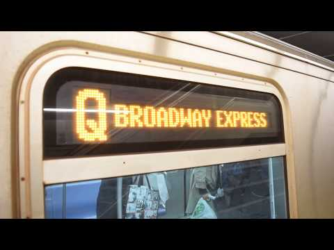 RARE! 86th Street (IND 2nd Avenue Line) Action!