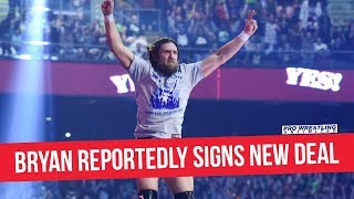 Daniel Bryan Reportedly Signs New Deal With WWE