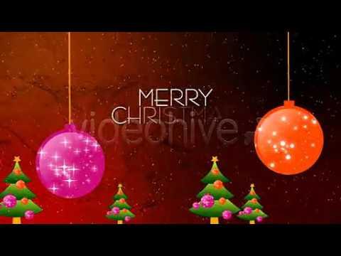 【ae模板260】圣诞节片头Merry Christmas