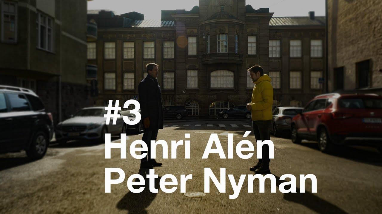 Kävelyllä koronan aikaan - Jakso 3 - Henri Alén Peter Nymanin seurassa.