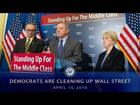 Democrats Are Cleaning Up Wall Street