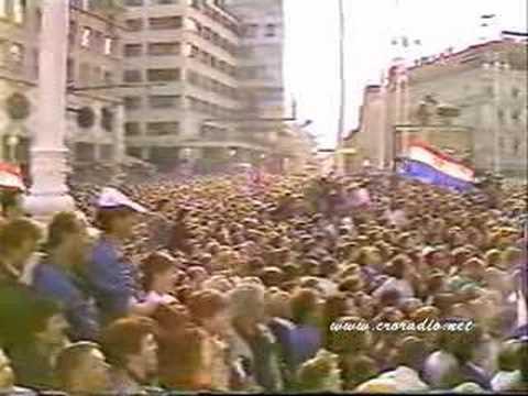 CROATIA ZAGREB HRVATSKA 30 . 05 . 1990