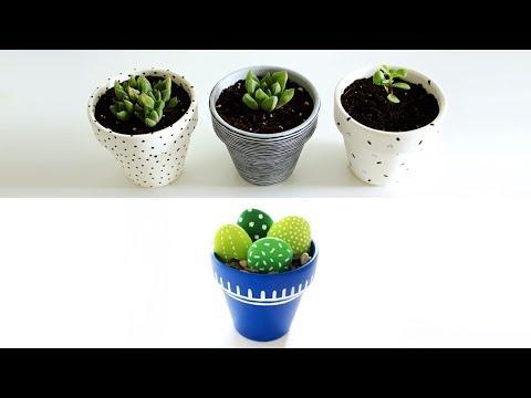 Terra Cotta Pot Painting Ideas