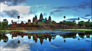 Angkor wat -hindu temple - cambodia tourist attraction-siem reap cambodia tourism