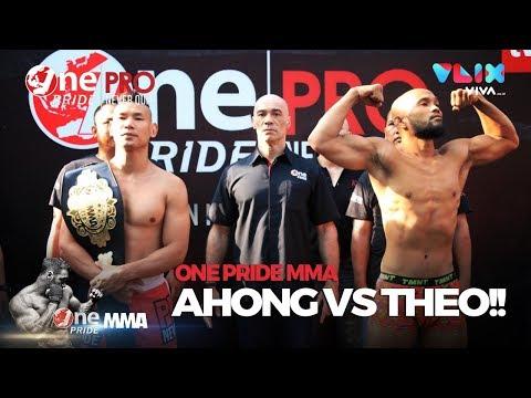 Ahong vs Theo Makin Panas Pas Timbang Badan - One Pride MMA Fight Night 30