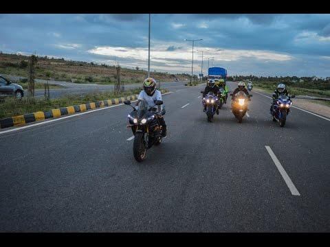 Best Of SuperBikes Fly By In INDIA (Mysore)