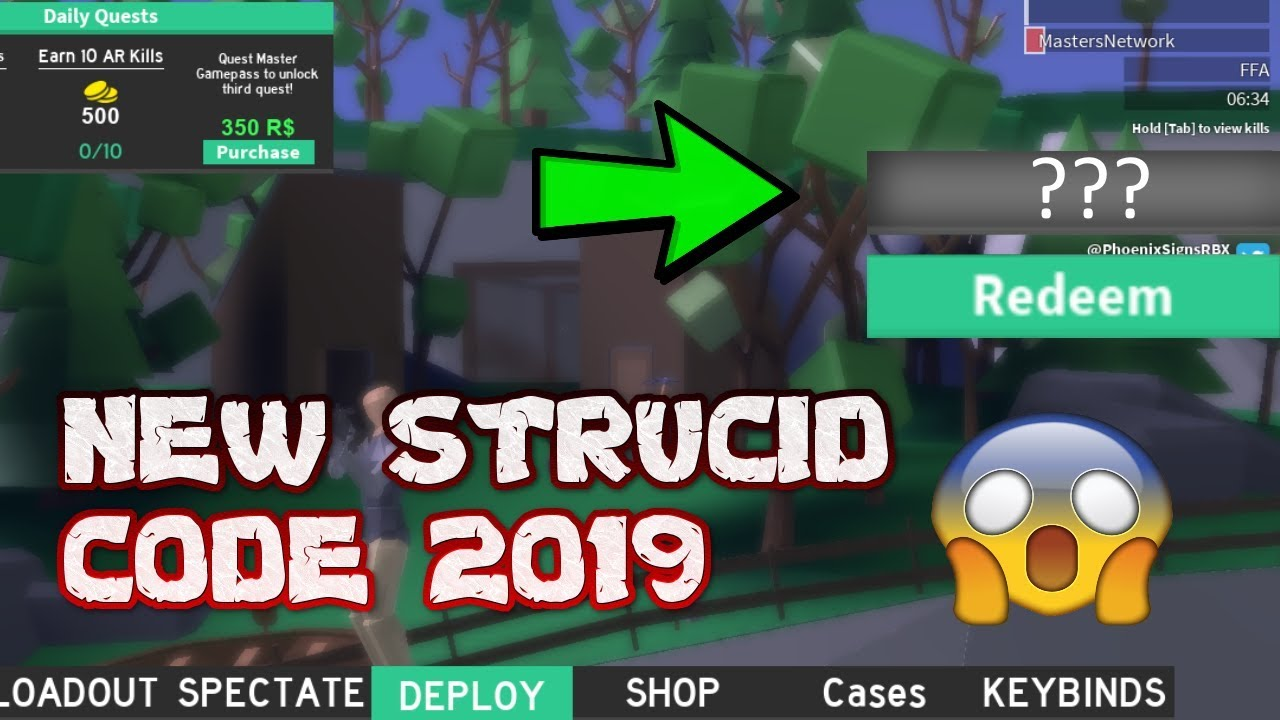 *NEW* STRUCID CODES 2019! | (ROBLOX STRUCID) - YouTube