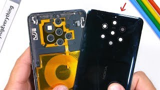 Nokia 9 Teardown! - How do all these Cameras work?!