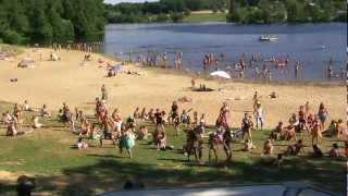 Flash Mob Camping Campéole Le Coiroux 2012