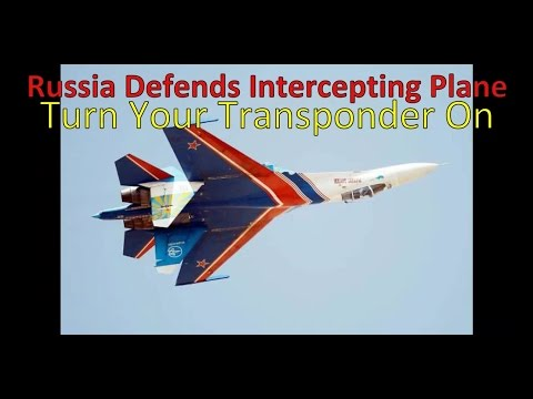 Russia Defends Interception and Said US Air Force RC-135 Needed to Turn on Its Transponder