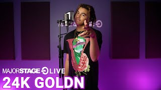 24KGOLDN - VALENTINO | MAJORSTAGE STUDIO PERFORMANCE