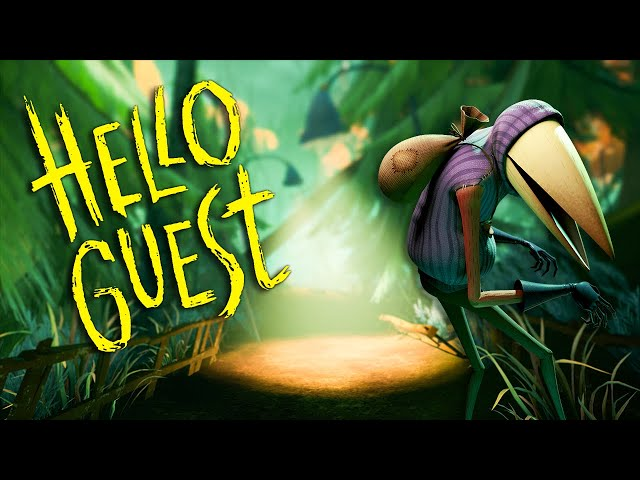 Hello Neighbor Is Back?! - Hello Guest Gameplay (Hello Guest Alpha 1)
