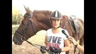 Спортивный мастер класс. Конный спорт.