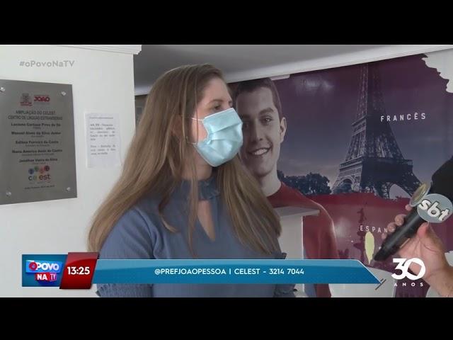 Centro de línguas de João Pessoa abre inscrições a partir deste sábado - O Povo na TV
