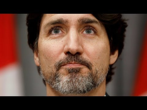 Justin Trudeau pauses for 22 seconds before answering question about Donald Trump