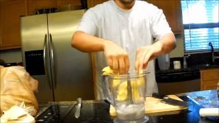 Smoothie Recipe Organic Pina Colada