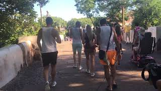 Disney's Animal Kingdom - Entering Harambe