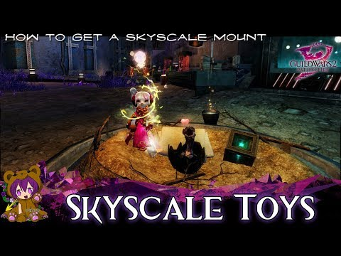 ★ Guild Wars 2 ★ - Skyscale Toys achievement (Skyscale mount)