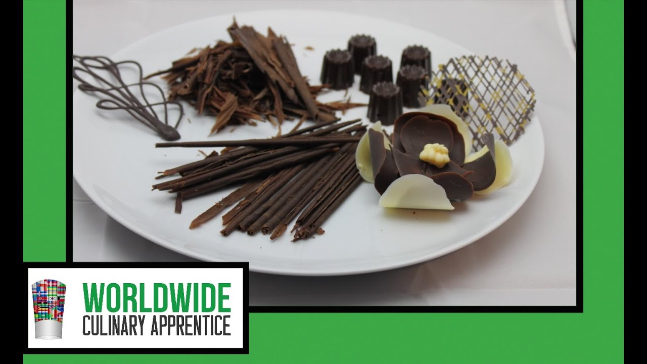 Chocolate - How to Temper Chocolate - Tabling Method - Chocolate Tempering  - Pastry Classes